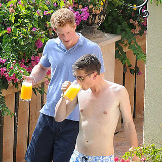Prince Harry Shirtless Pictures With Bikini Girl in Mallorca