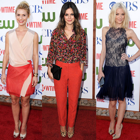 Rachel Bilson, Claire Danes, Jaime King, Kristen Bell and Emmy Rossum Pictures at TCA Party