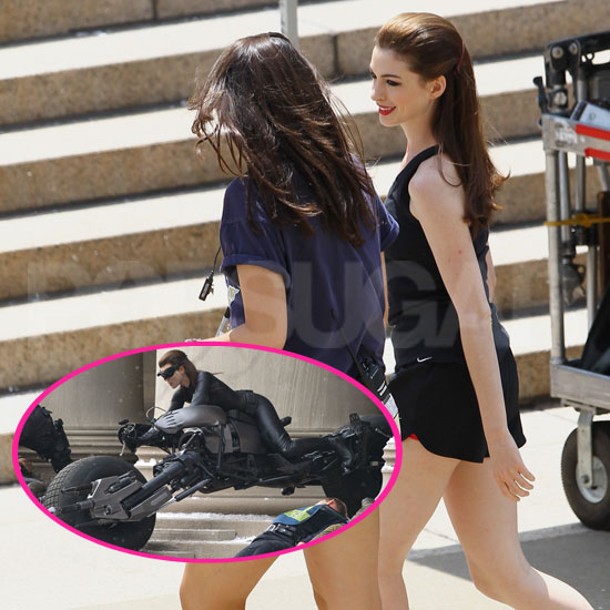 Denver Shooting At Batman The Dark Knight Rises Jessica: Anne Hathaway In Catwoman Costume For Batman Pictures