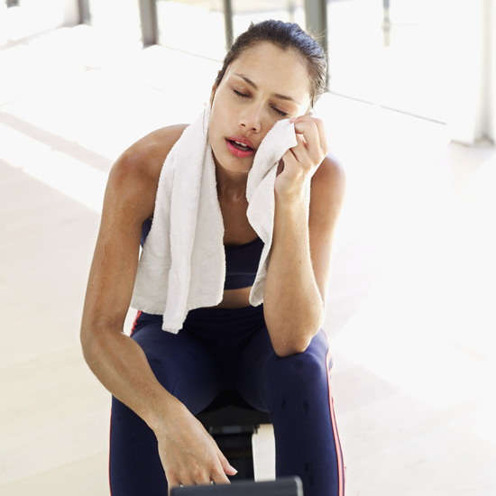 how to avoid getting acne from working out
