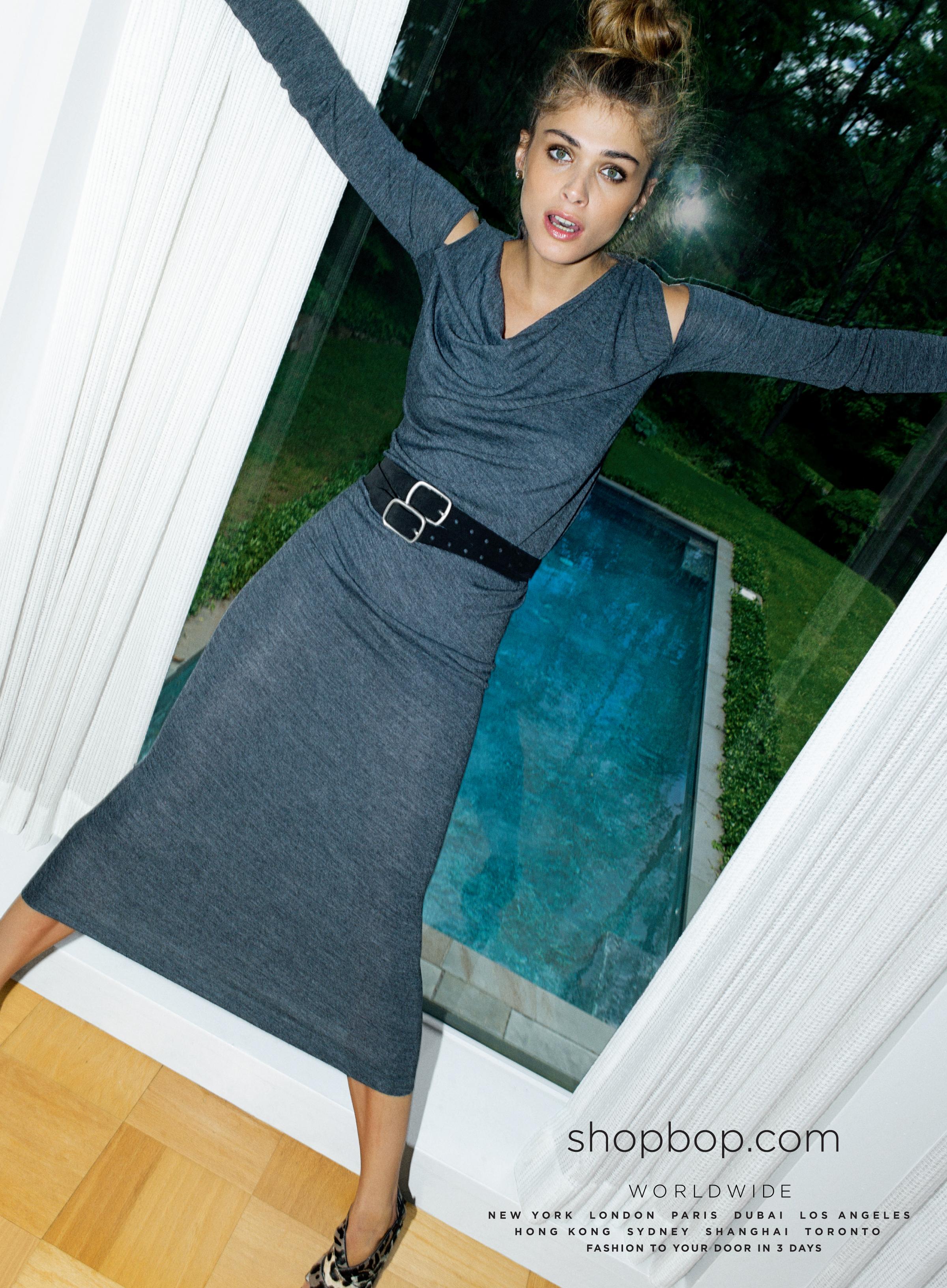 Elisa Sednaoui for Shopbop Fall 2011