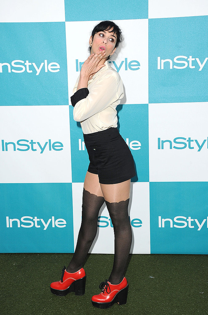 Sarah Silverman at the 10th annual InStyle Summer soiree.