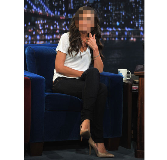 Can You Guess the Brunette Celebrity by her Jeans and Tee Outfit? Try Our Fun Guess Who Quiz!
