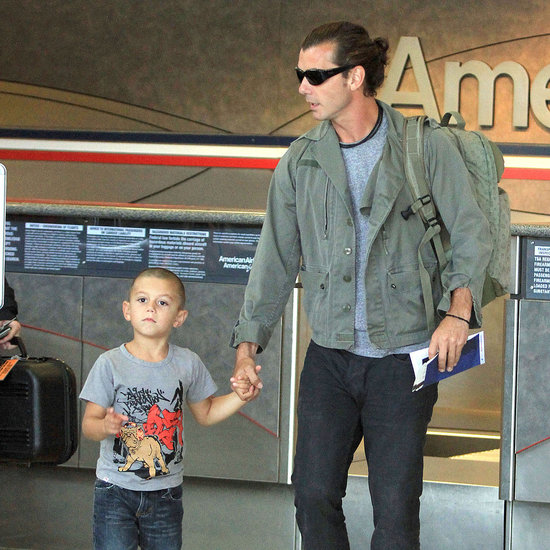 Kingston Rossdale Shaved Head Pictures With Gavin Rossdale