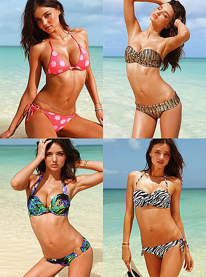Miranda Kerr Shows Her Amazing Bikini Body in New Ads For Victoria's Secret
