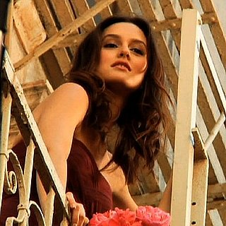 Leighton Meester and Vera Wang at Lovestruck Commercial Shoot