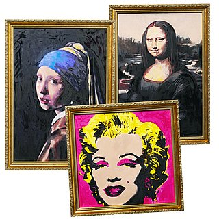 Makeup Masterpieces: Mona Lisa and Marilyn Painted with Cosmetics 2011-08-23 03:06:05