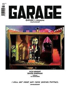 Dasha Zhukova's Garage Magazine Covers - The First Issue, Shot by Hedi Slimane