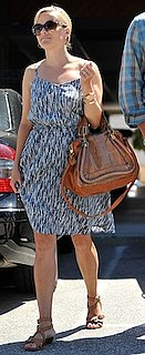 Reese Witherspoon With Python Chloe Bag in LA