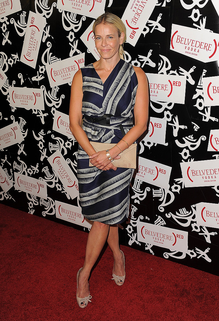 Chelsea Handler stepped out to support her favorite liquor.