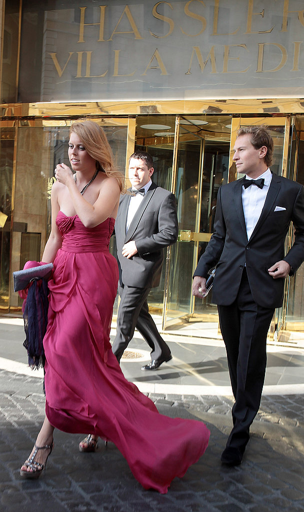 Princess Beatrice was joined by her boyfriend, Dave Clark.