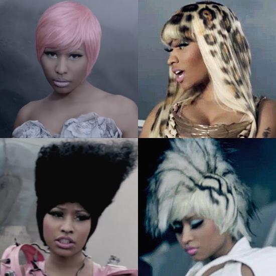 """Nicki Minaj's Hair in the New """"Fly"""" Video 2011-08-30 01:10:00"""