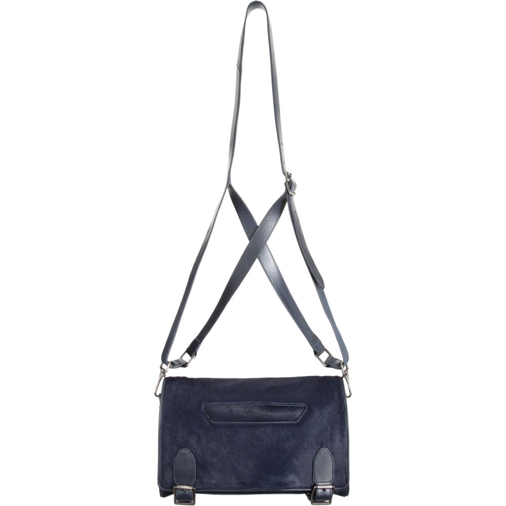 Theyskens's Theory Small Calf Hair Messenger Bag ($845)