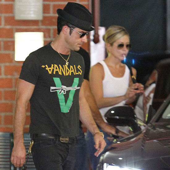 Jennifer Aniston and Justin Theroux in LA Pictures