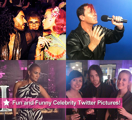 Fun and Funny Celebrity Twitter Pictures of Katy Perry, Justin Bieber, Jennifer Lopez