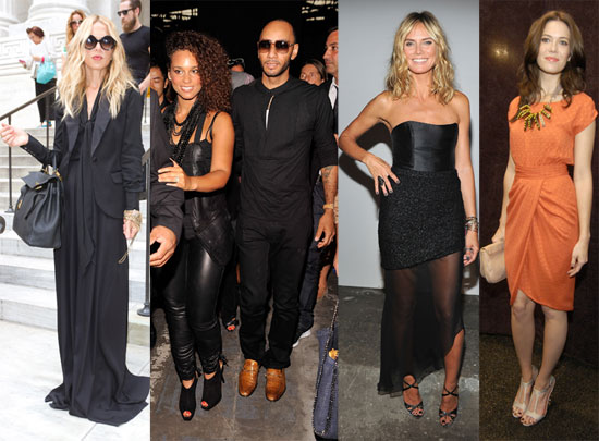 Rachel, Mandy, Bar, and More Have a Fun New York Fashion Weekend
