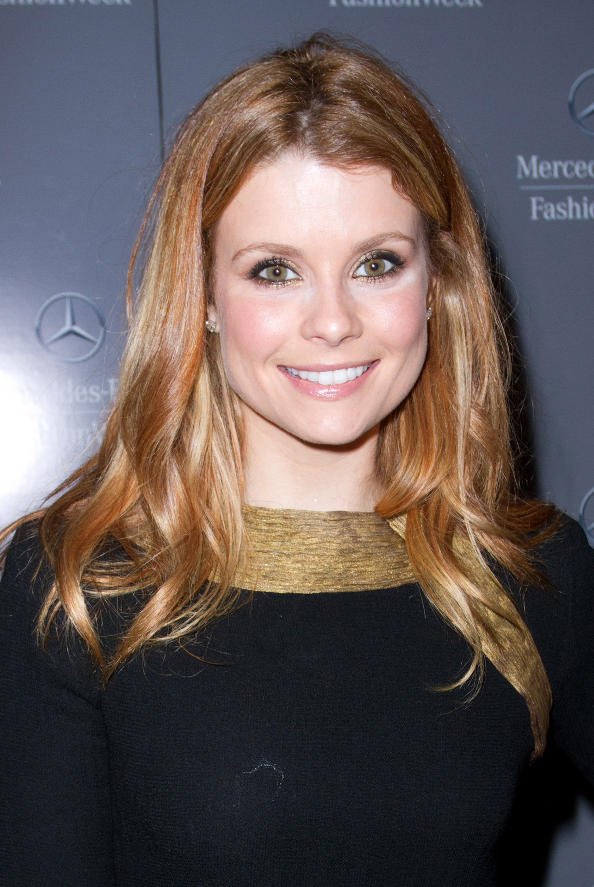 Joanna Garcia-Swisher during Fashion Week.