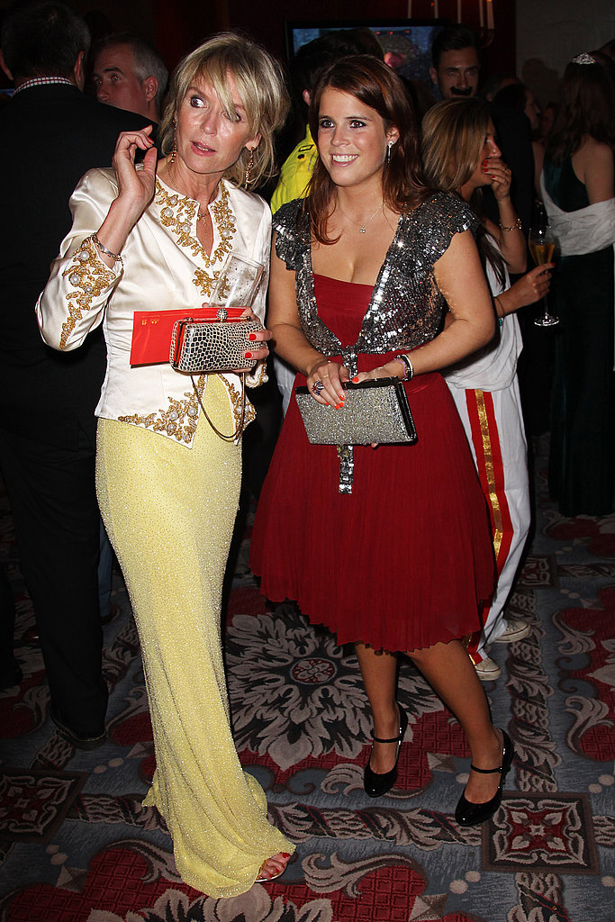 Princess Eugenie at the Freddie For a Day 65th birthday anniversary at the Savoy Hotel.