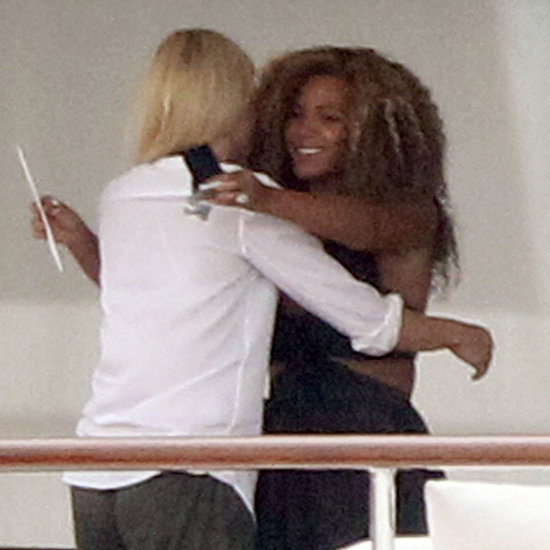 Pregnant Beyoncé Knowles Birthday Pictures With Gwyneth Paltrow