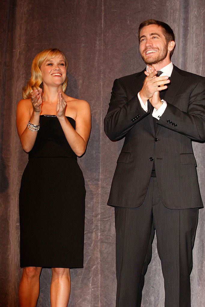 Reese Witherspoon and Jake Gyllenhaal took to the stage together during the 2007 premiere of Rendition.