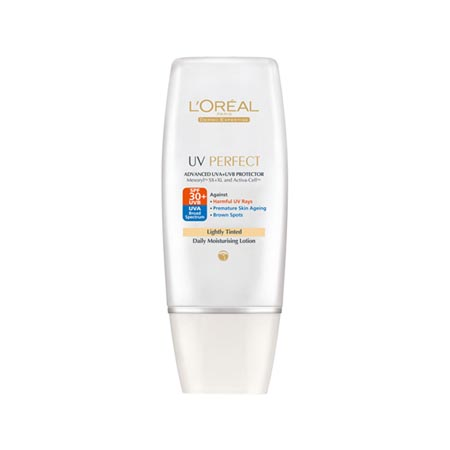 L'Oreal Paris UV Perfect SPF 30+ Tinted, $17.95