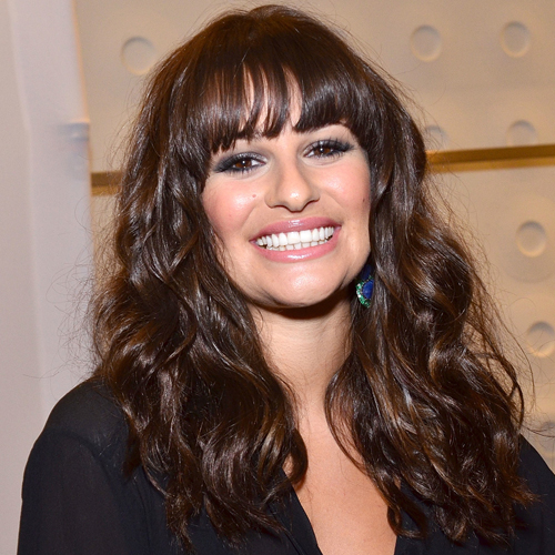 Get Glossy Hair Like Lea Michele