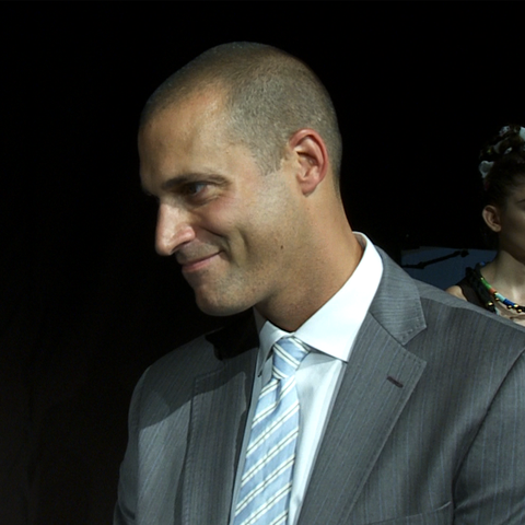 Nigel Barker Interview at Mara Hoffman Spring 2012 Presentation - Nigel-Barker-Interview-Mara-Hoffman-Spring-2012-Presentation