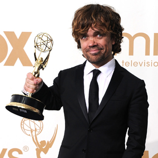 Peter Dinklage Emmy Press Room Interview For Game of Thrones