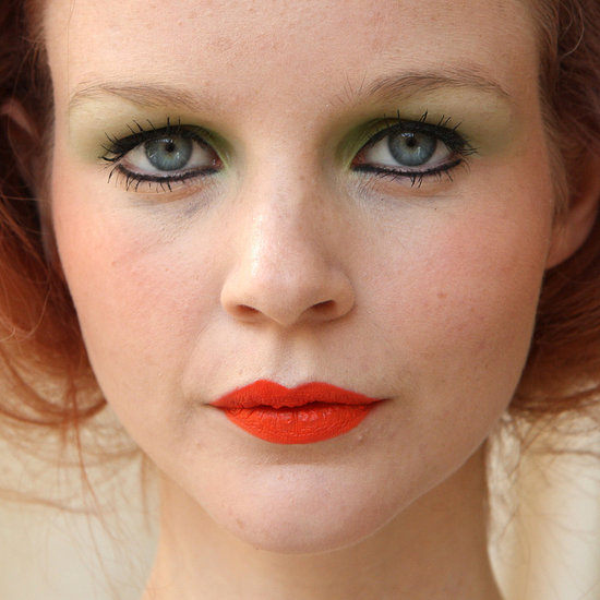 Chris Benz Spring 2012: Backstage Beauty Pictures