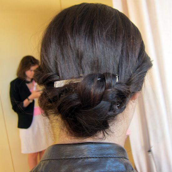 Chic Twists and Braided Buns at Rachel Roy