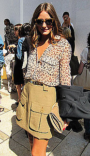 Olivia Palermo at New York Fashion Week 2011