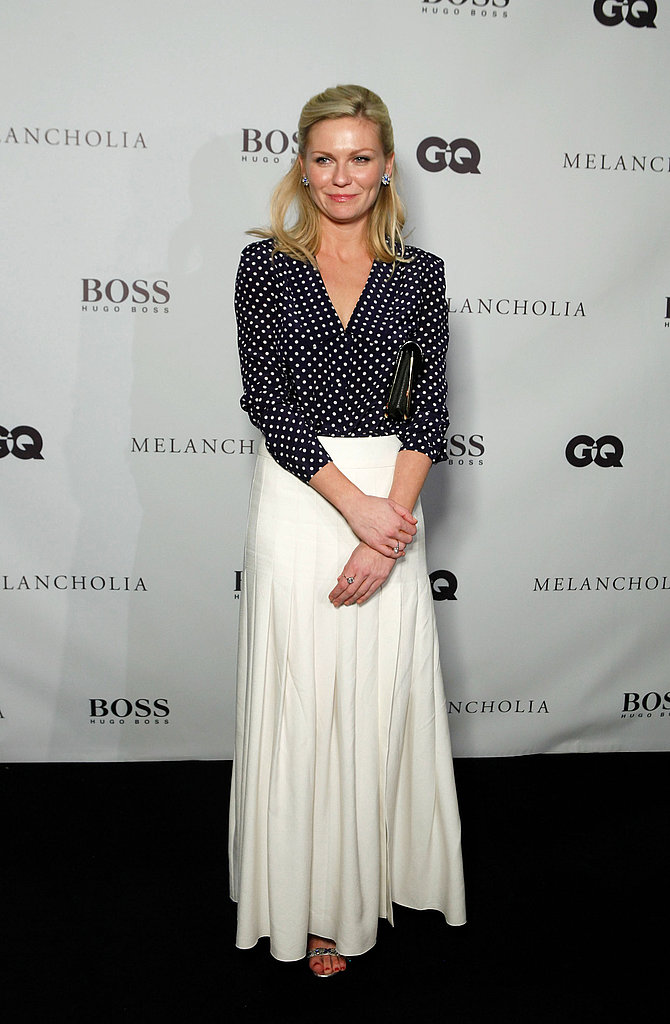 Kirsten Dunst showed off a look we're already planning to replicate at the Hugo Boss/ GQ party.