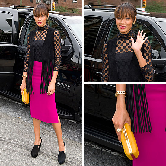 Fashion Week Celebrity Style: Selita Ebanks