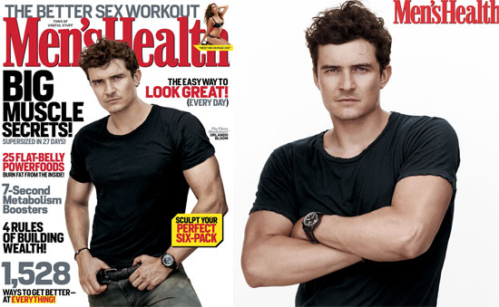 Orlando Bloom Talks Swashbuckling, Fear, and Fitness With Men's Health