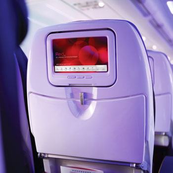 Virgin America On-Board Technology