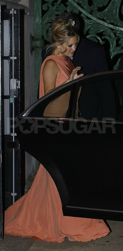 Kate Hudson looking glamorous for Stella McCartney's 40th birthday party.