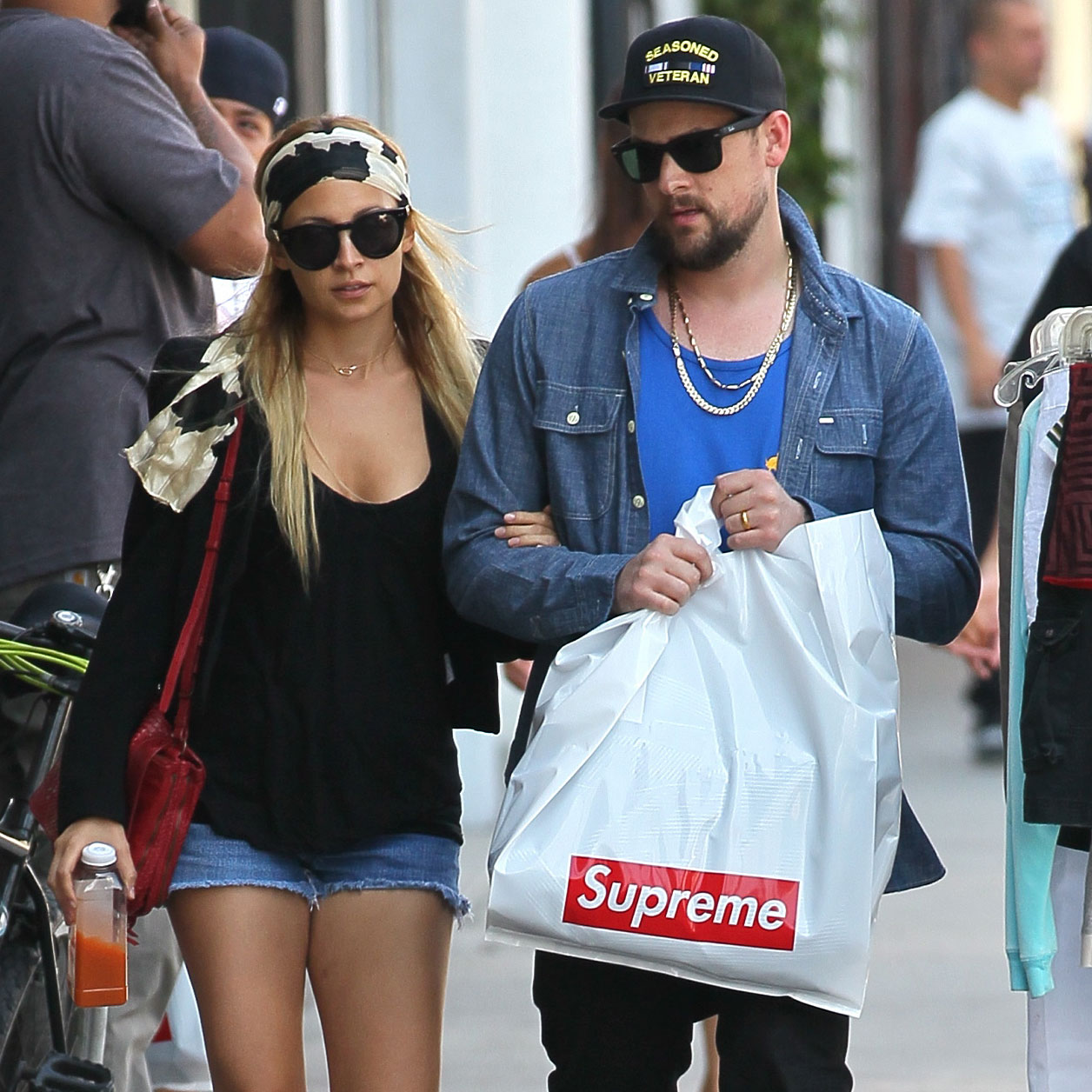 Nicole Richie and Joel Madden shopping in LA.