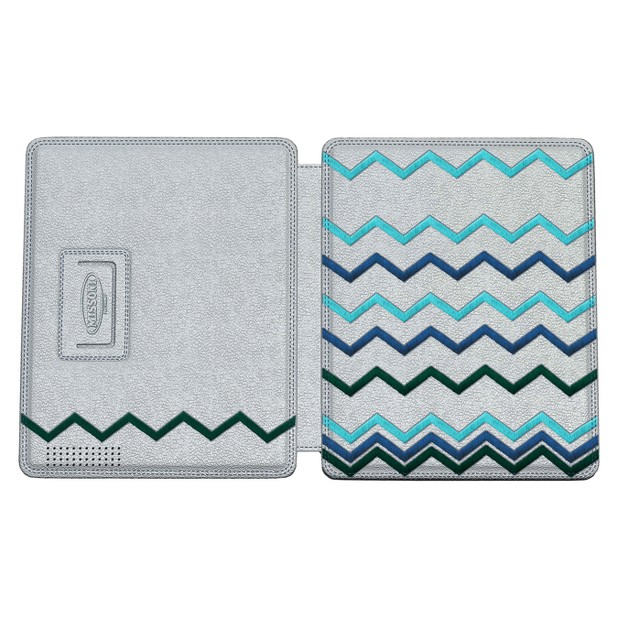 White Leather iPad 2 Case ($60)