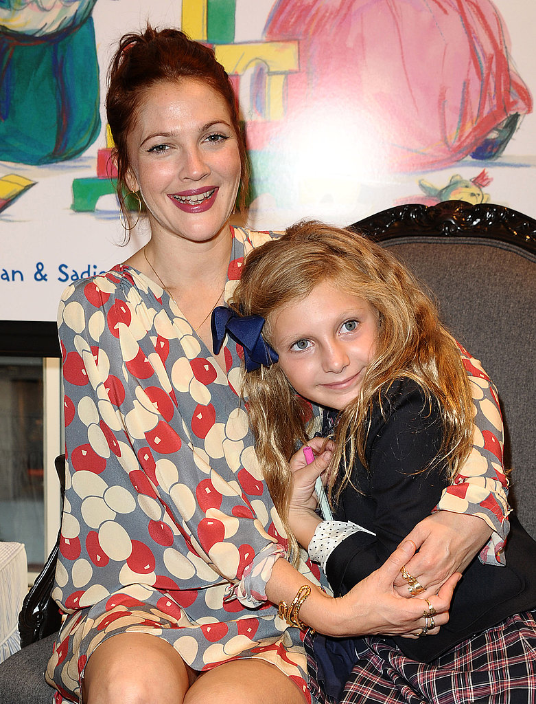 Drew Barrymore attended the Brooks Brothers book party.