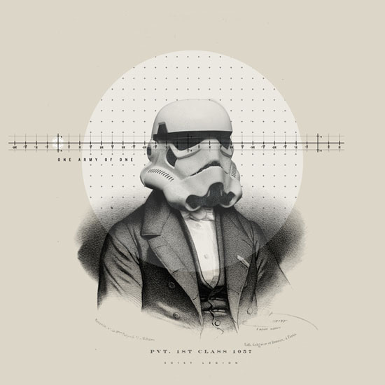 Stroomtroopers cut an intimidating portrait in any era.