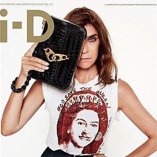 Carine Roitfeld i-D Magazine Cover 2011
