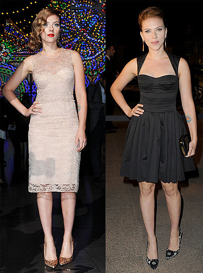 Scarlett Johansson Goes From Day to Night With Dolce & Gabbana