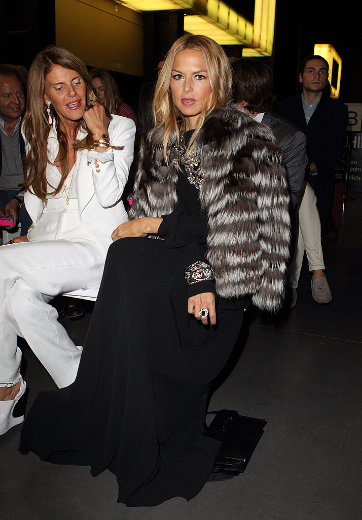 Rachel Zoe with Anna Della Russo at Matthew Williamson.