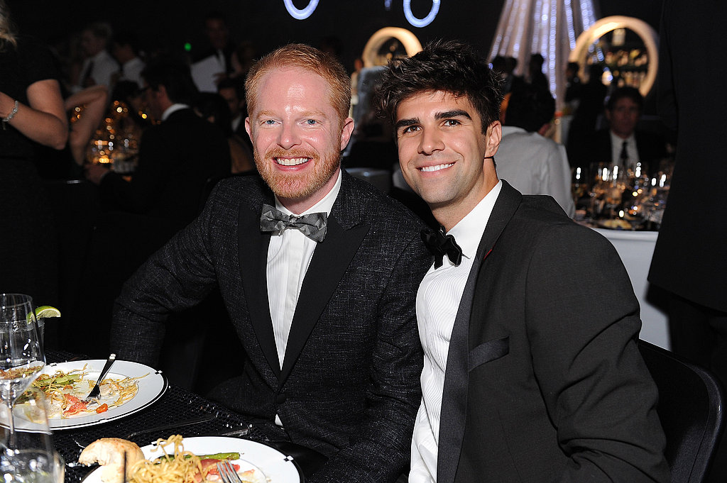 Jesse Tyler Ferguson and boyfriend Justin Mikita at the Emmy's Governor's Ball.