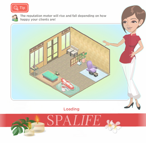 New Spa Facebook Game From Clarins