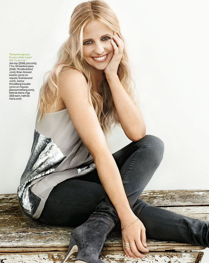 Sarah Michelle Gellar in Health.
