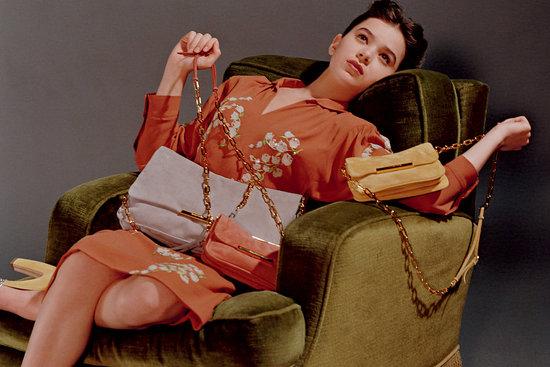 Miu Miu Glitter Pumps and Frame Bags - Fall 2011 Accessories