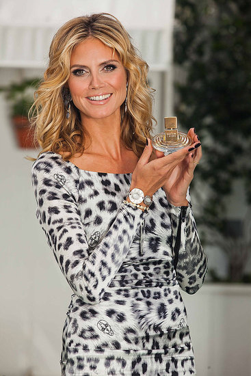 Heidi Klum debuted her new fragrance Shine at the Mondrian in LA on Sept. 28.