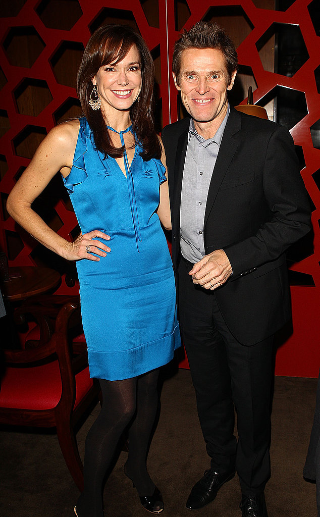 The Hunter stars Frances O'Connor and Willem Dafoe were all smiles at the Sydney premiere's after party on Sept. 26.