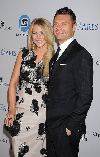 Ryan Seacrest had girlfriend Julianne Hough for support at the LA Promise Gala honouring Ryan Seacrest on Sept. 27.